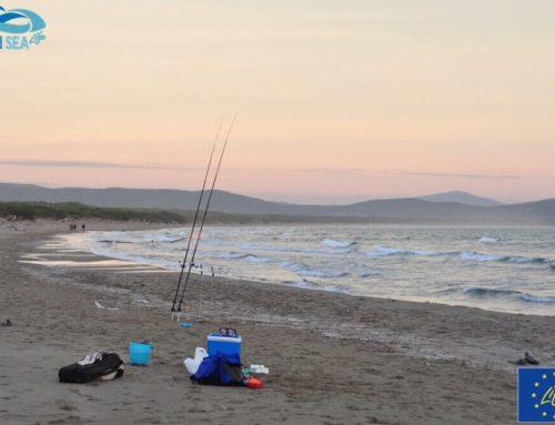 i pescatori sportivi abbracciano Clean Sea Life