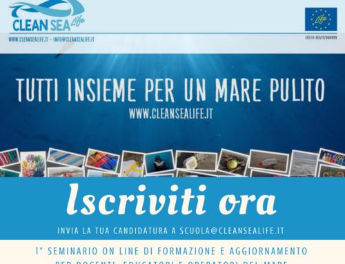 1° Seminario formazione e aggiornamento Clean Sea Life