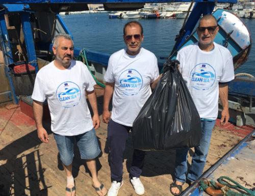 A pesca di rifiuti – Porto Torres 2018
