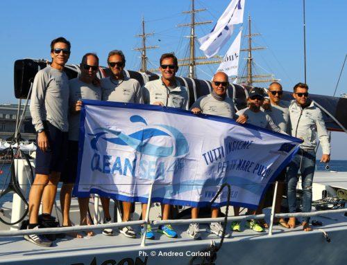 Clean Sea LIFE alla Barcolana: #NothingOverboard, non gettiamo nulla fuoribordo!
