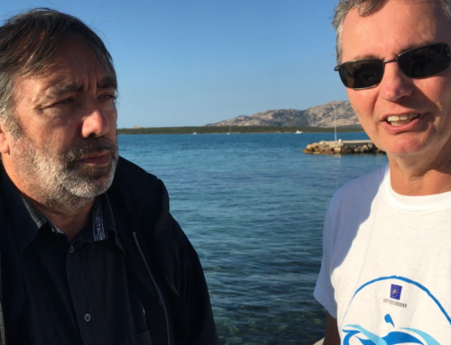 La Commissione Europea in visita all'Asinara per Clean Sea LIFE