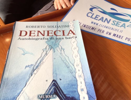 Clean Sea LIFE a bordo di Denecia