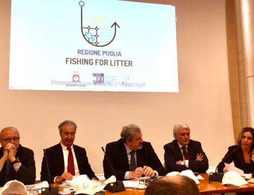 A pesca di rifiuti in Puglia