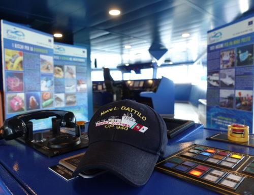 la mostra Clean Sea LIFE a bordo di nave Dattilo e nave Diciotti