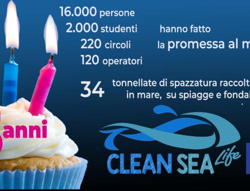 buon compleanno Clean Sea LIFE!