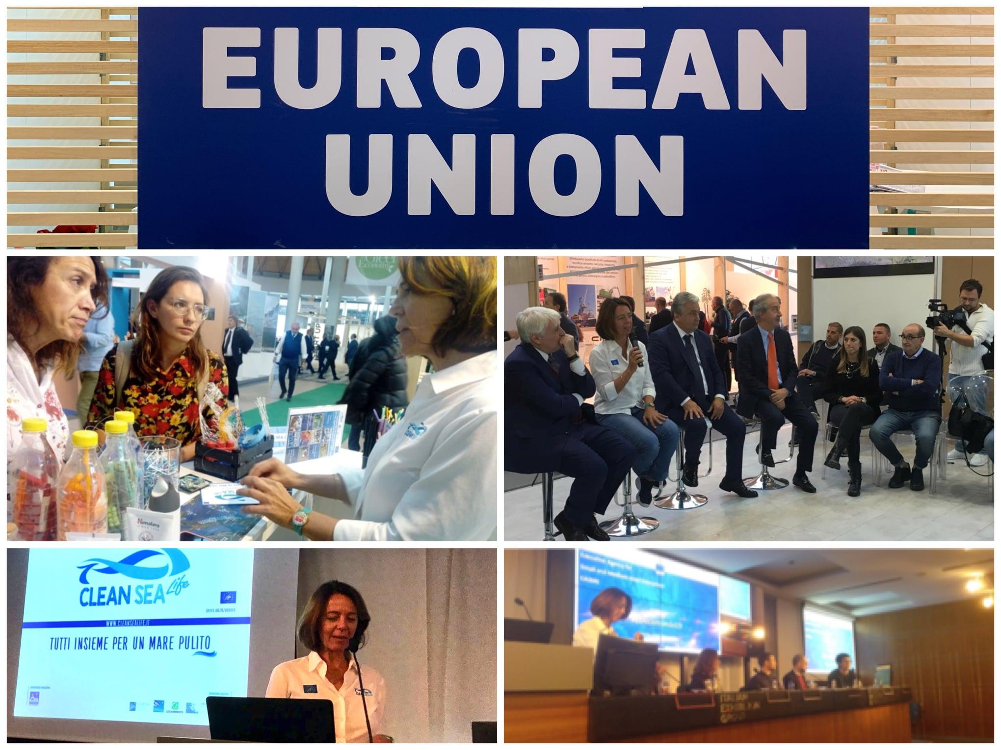 a Ecomondo, come Ambasciatori dei fondi europei
