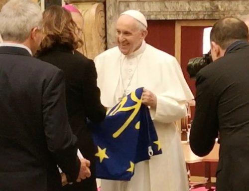 l'incontro con Papa Francesco