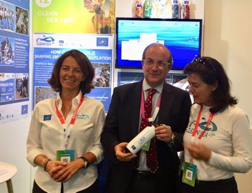 Clean Sea LIFE con il DG per l'ambiente, Daniel Calleja-Crespo