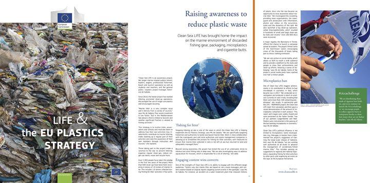 i progetti LIFE per la Strategia Europea sulla plastica