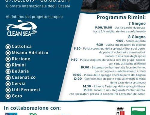 Puliamo il mare in Emilia Romagna, con Clean Sea LIFE